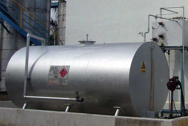 Diesel Oil Tank Installation